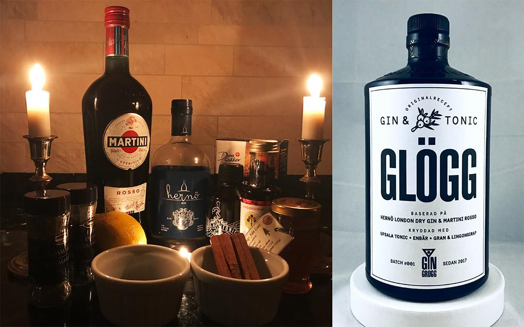 recept gingrogg gin tonic glögg