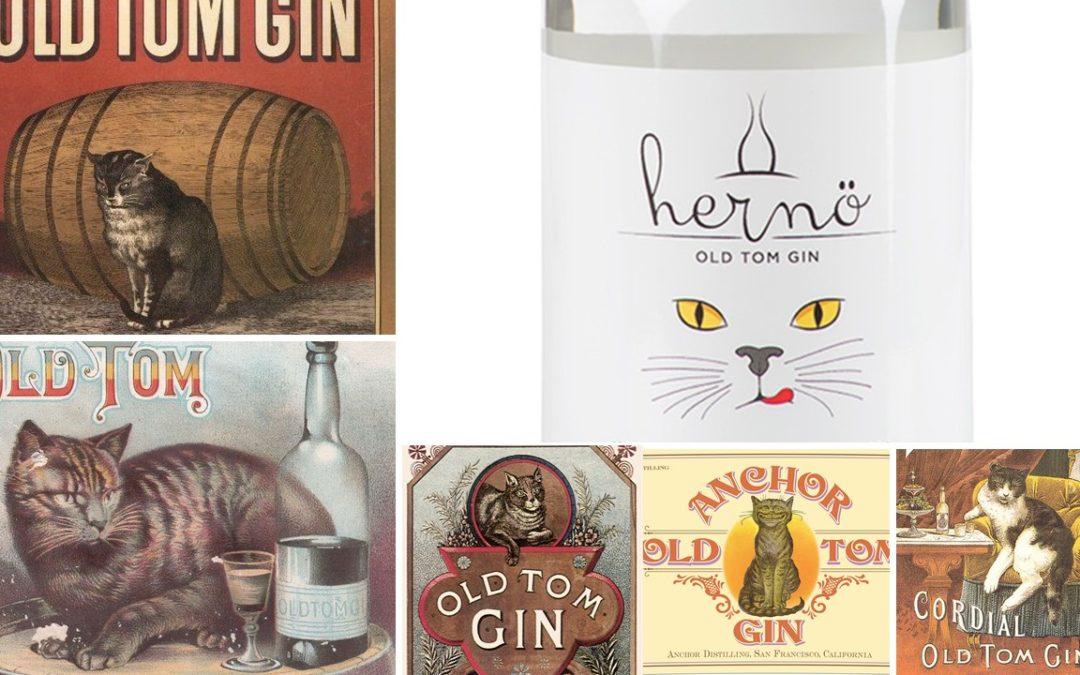 Varför kallas gin för Old Tom och varför är det en svart katt på alla gamla etiketter?
