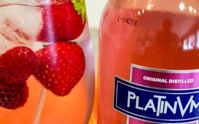 Platinum Gin Rosé Strawberry